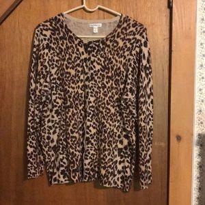 Cardigan- Cheetah Print